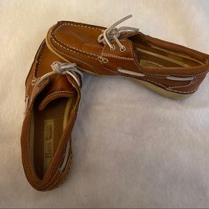 Women's Brown Bass Boat Slip On Loafers Size 7